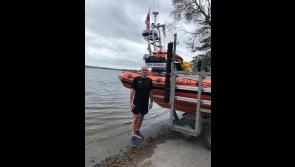 Local man running around the lake for Lough Ree  RNLI boathouse fund