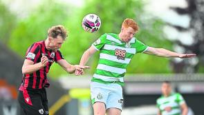Longford Town take on the table toppers Shamrock Rovers at Bishopsgate