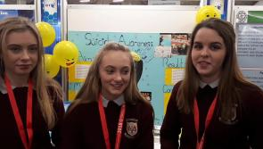 Watch: Longford students spread suicide awareness message at BT Young Scientist Exhibition