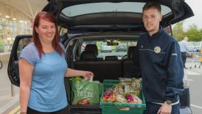 Tesco has given almost 300,000 meals to Kildare charities in three years