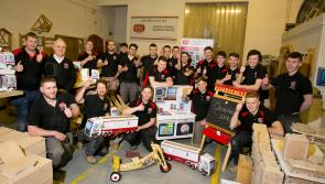 Apprentice carpenters to bring festive cheer to sick children in Kildare this Christmas