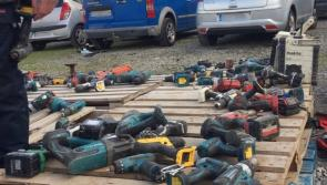 Tools stolen from vans and sheds are being sold at Dublin market