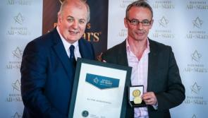 Naas businessman receives All-Star award following growth in firm