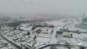 VIDEO: Breathtaking footage of Longford skyline illustrates unmitigated magnitude of Storm Emma