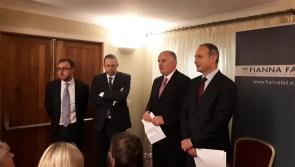 Video:  Fianna Fail leader, Micheál Martin officially opens Joe Flaherty's campaign office in Longford town