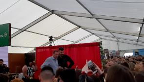 WATCH   Crowds go wild for Marty Morrissey and Love Island's Greg O'Shea