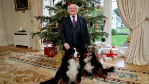 WATCH | A Christmas and New Year message from President of Ireland, Michael D Higgins