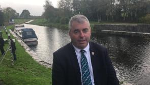 WATCH  Minister Moran announces €1million funding for Royal Canal Greenway