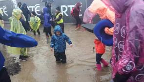 Watch: Splashing around at day two of #Ploughing17