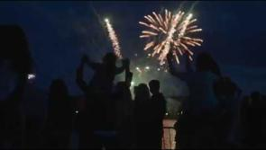 WATCH | Spectacular fireworks display celebrates launch of magical Center Parcs Longford Forest