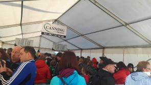 #Watch: No show like a Joe show, the queue to meet Joe Canning is HUGE before 9am at #Ploughing17