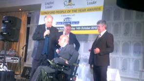 VIDEO: Longford Person of the Year award winner 2016, Victor Connell humbled by his success