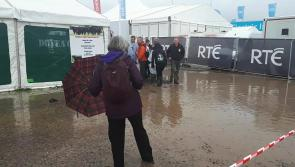 Watch: See the extent of flooding at #Ploughing17