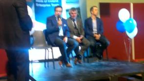 Video: Lively GAA discussion during Bank of Ireland Enterprise Town event in Ballymahon