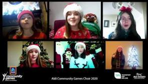 WATCH | Terrific Taylyn represents Longford in Aldi Community Games virtual Christmas choir