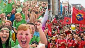 Flashback to 2006 as delirious fans in Limerick appear on Croke Park screen