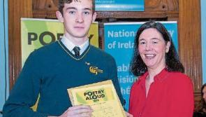 Tipperary student honoured for poetry reading skills