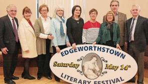 Edgeworthstown Literary Festival set for May 14