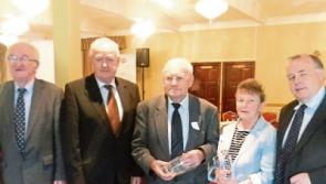 Achievement award for Kenagh historian