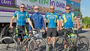 Longford cyclists set off for Ireland-Sweden clash