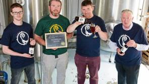 Gold for St Mel's at beer awards