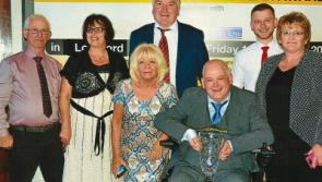 Killoe's Victor Connell crowned Longford Person of the Year