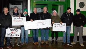 Longford activists hold vigil in support of Apollo House homelessness campaign
