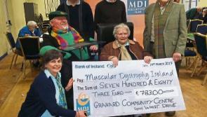 Granard whist drive raises €783 for MDI