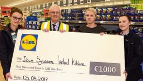 Lidl donates to Kildare charity