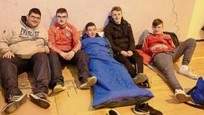 Large crowds in Longford for Sleep Out for Simon