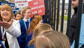 Tipp Town primary school pupils locked out of Department of Education