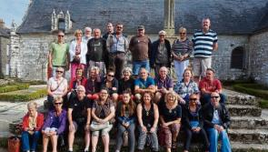 Ballymahon welcomes visitors from France