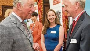Longford's Heritage Hero meets Prince Charles