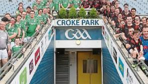 Longford Macra members take part in Croke Park challenge