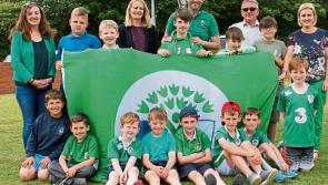 Cashel school celebrates its Green Flag for diversity