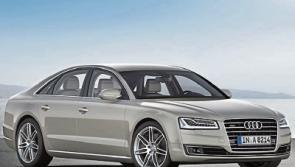 'Stylishly smooth ride'  with new active suspension for Audi A8