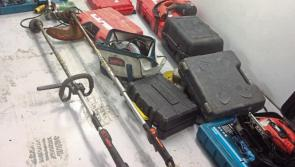 UPDATE: Gardaí look to reunite suspected stolen items retrieved in aftermath of dawn north Longford raids with rightful owners