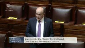 Naughten tells Dáil 'contact tracing is so poor that employers informing staff'
