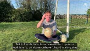 WATCH Hector for Meath and Dr Eddie from Laois team up for mental health