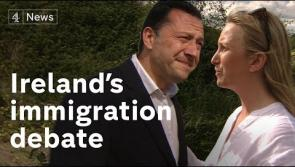 WATCH | Aneta Safiak tells Channel 4 News: 'I have my loved one buried in the Irish soil in Longford and this is where I belong'