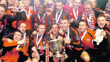 Longford's Top 10 Memorable Sporting Moments - Sensational finish as Longford Town retain the FAI Cup