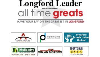 VOTE | Longford's All Time Great - Semi-final Poll #1: Padraic Gearty v Jillian McNulty