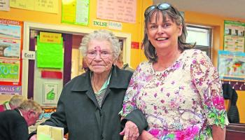 Not even age stopped Ardagh's Anne Byrne from casting her vote