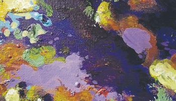 Brendan Dean - 'Untitled Harmony' acrylic on canvas 2019