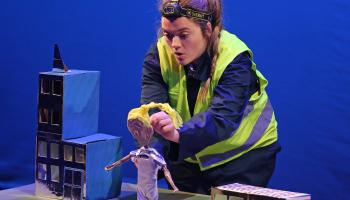 GALLERY| Backstage Theatre gives local kids a glimpse into the wonders of Luminaria