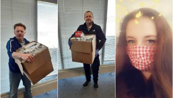 Longford people step up to donate Personal Protective Equipment to healthcare workers
