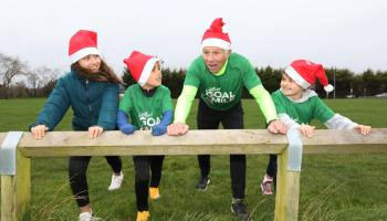 Irish running legend Eamonn Coghlan appeals to people of Longford to run a mile for GOAL this Christmas