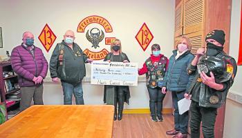 Longford Leader Gallery: Freewheelers raise €4,500 for Bethany House