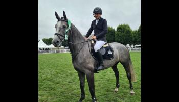 Longford rider jumps double clear round at RDS National Championships Final