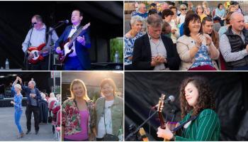 GALLERY | The legendary Declan Nerney has Longford concert goers dancing #FaoinSpéir at Connolly Barracks gig